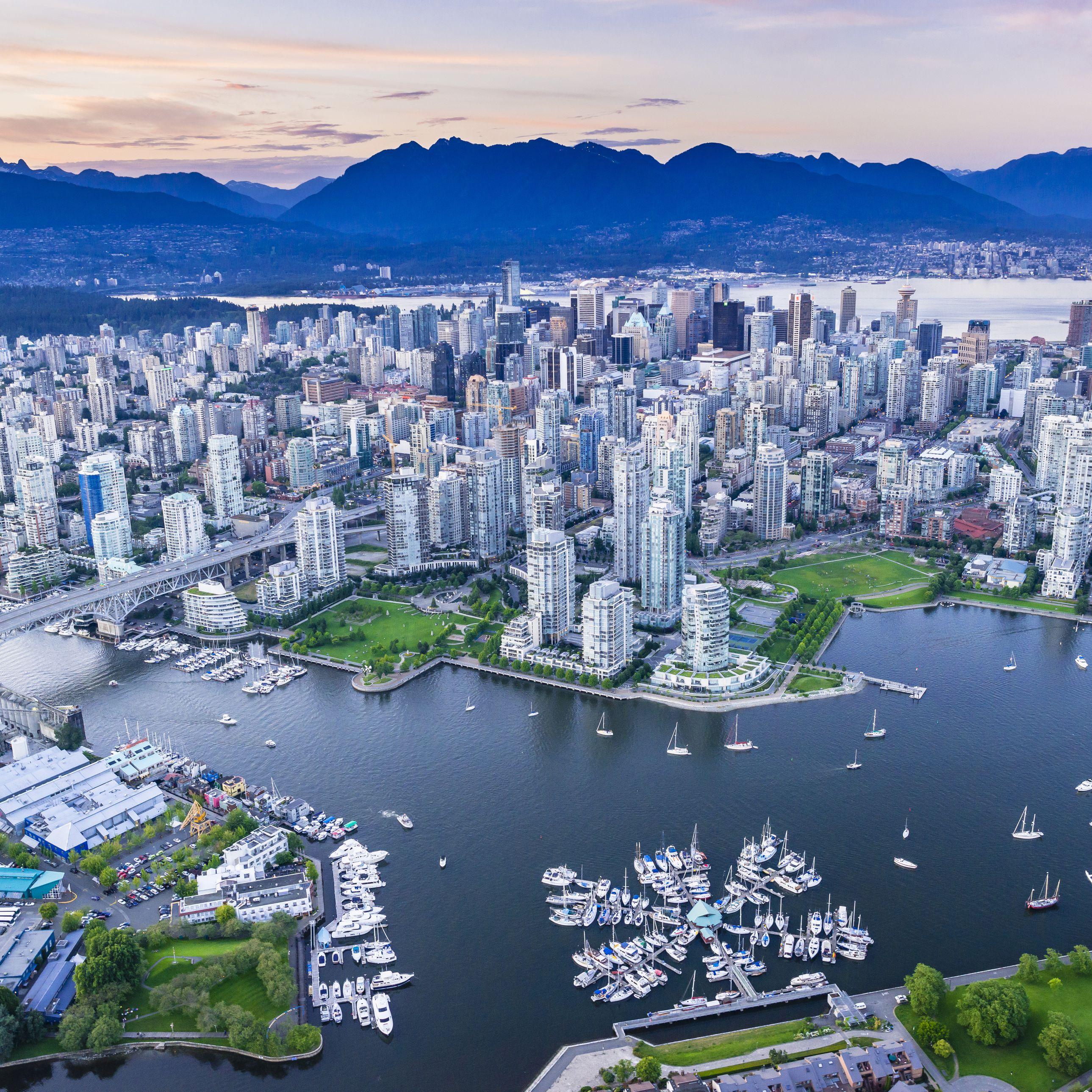 Vancouver Bc Canada: Green City: Vancouver, Canada