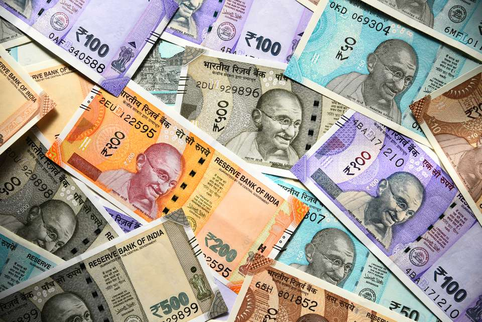 Indian new currency.