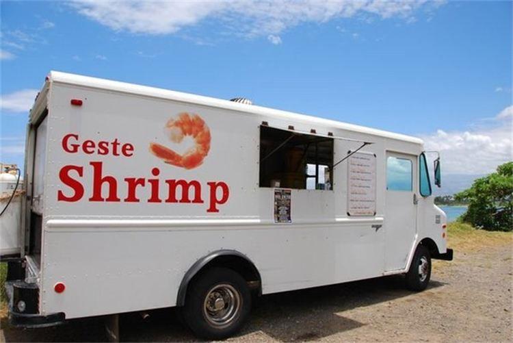 Geste Shrimp, Kahului, Maui
