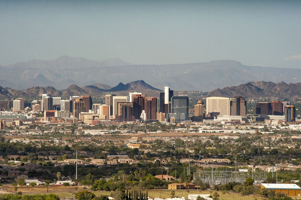 Downtown Phoenix skyline