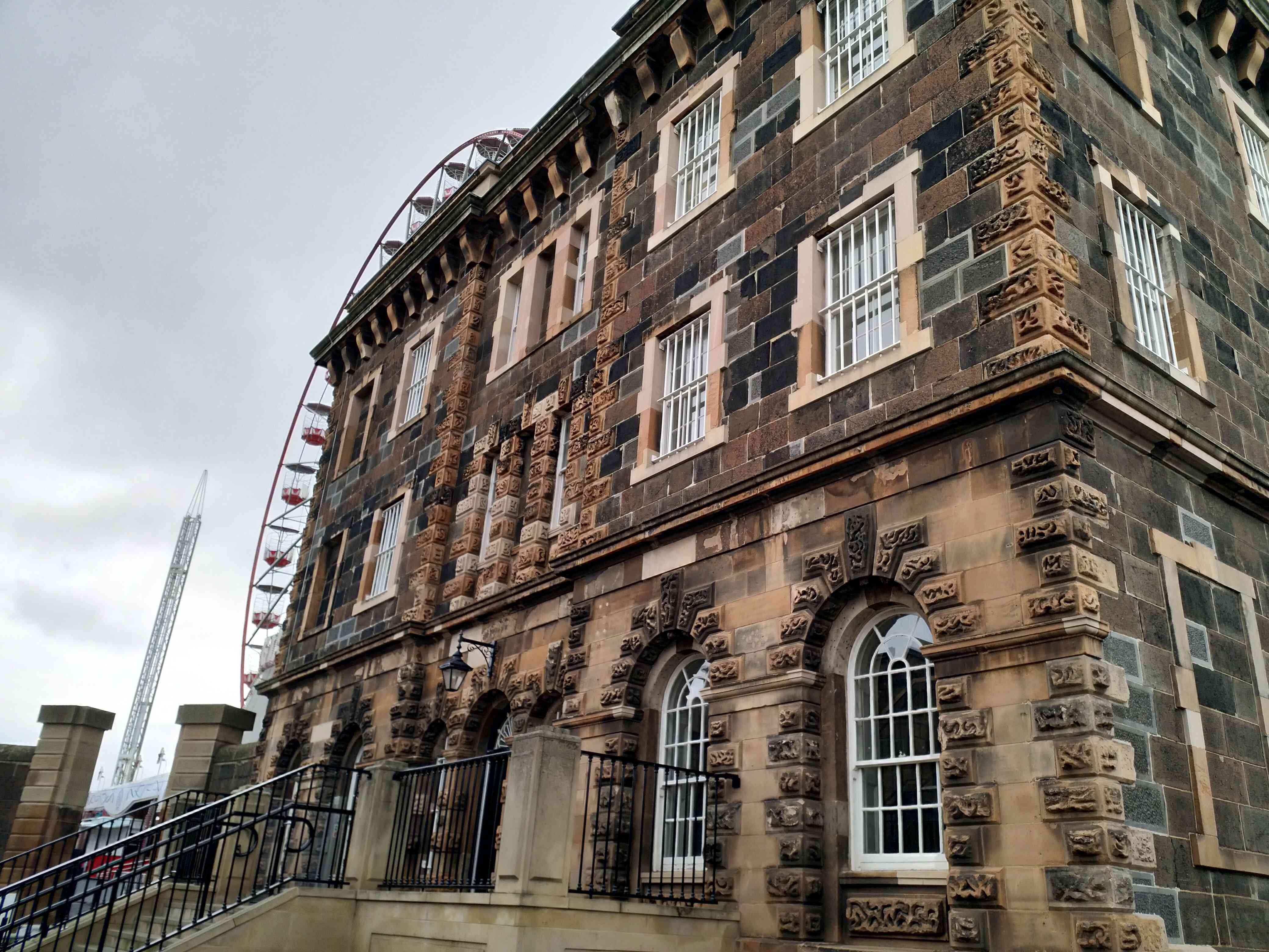 Victorian stone building