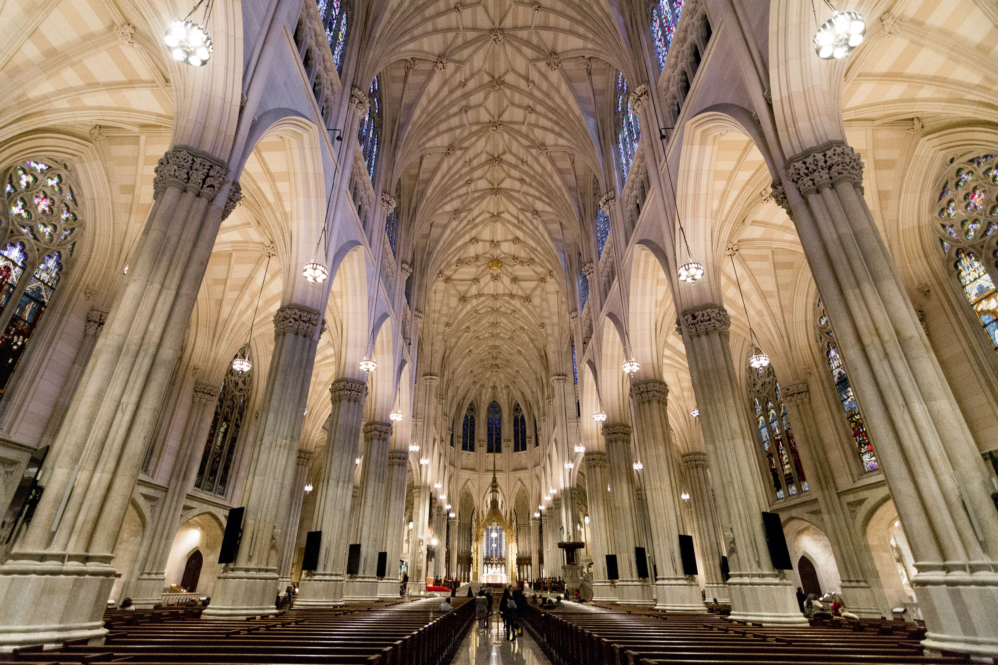 Inside of St. Patricks cathedral