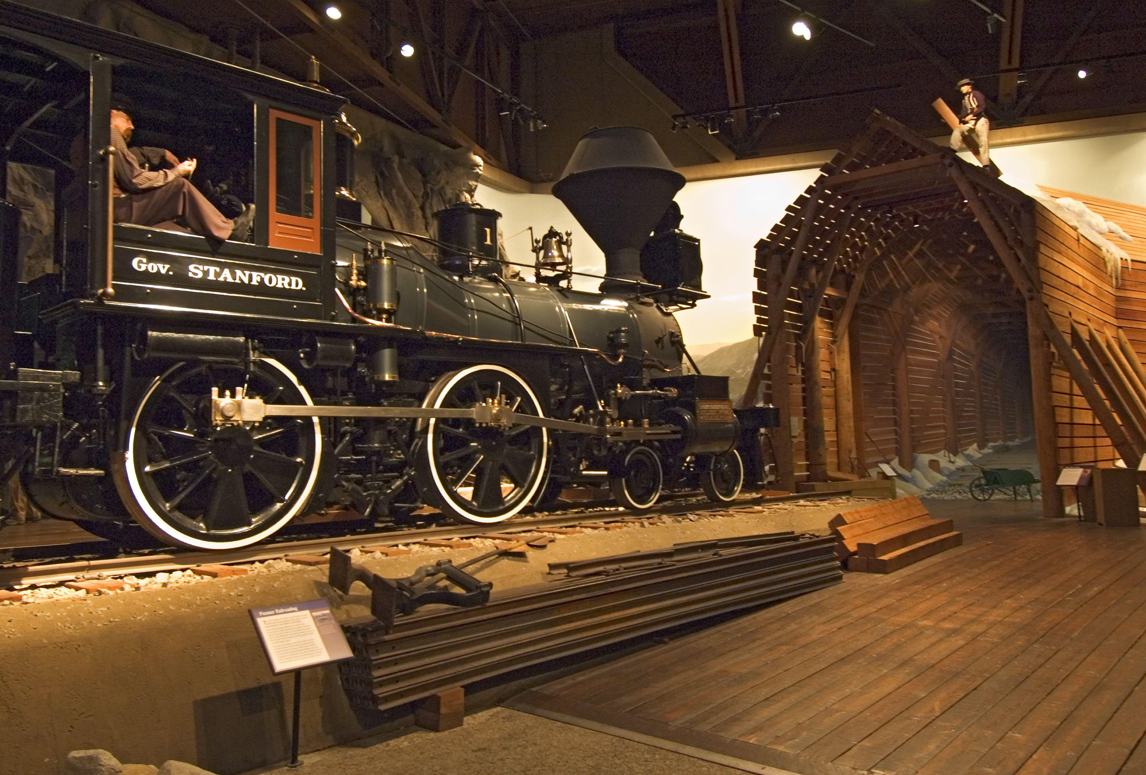 Display at California State Railroad Museum.