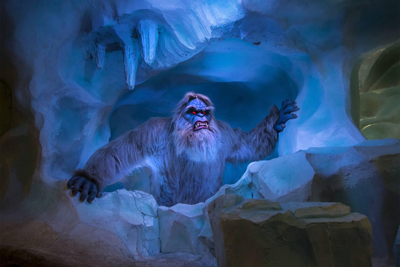 Abominable Snowman on the Matterhorn Bobsleds