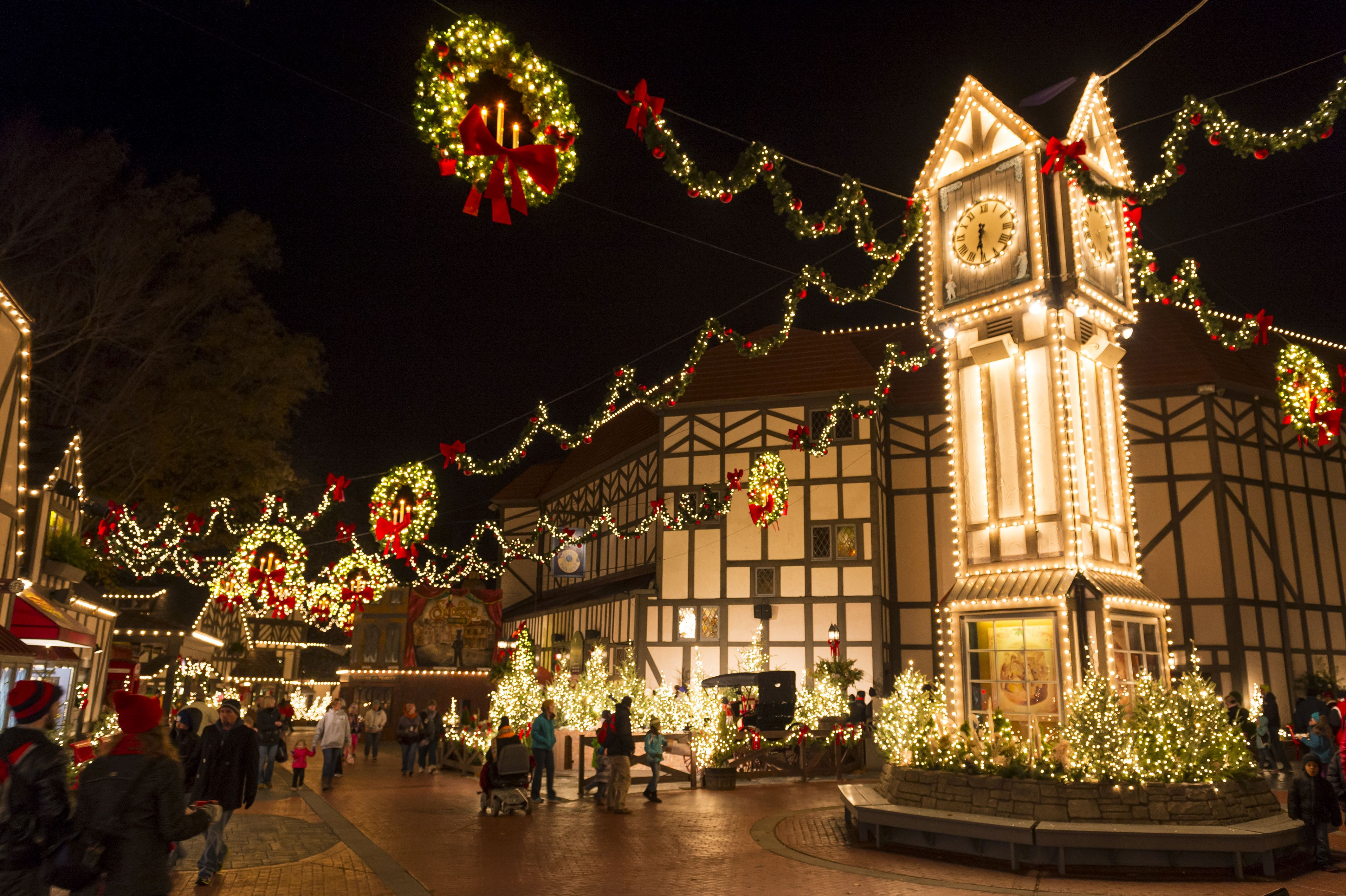 Photos of Christmas Town at Busch Gardens