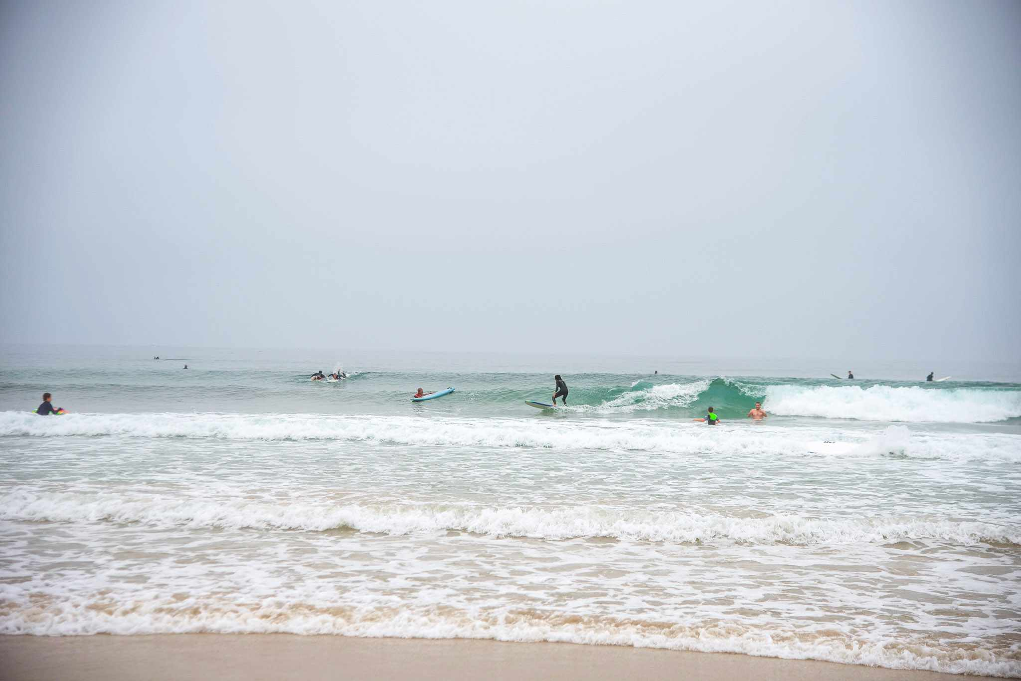 Surfers in San Diego
