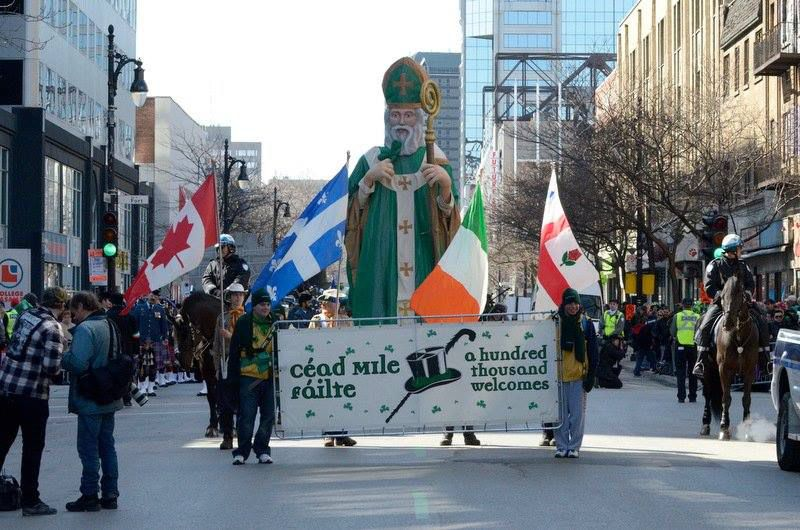 United Irish Societies of Montreal‎, Montreal's 195th St Patrick's Parade