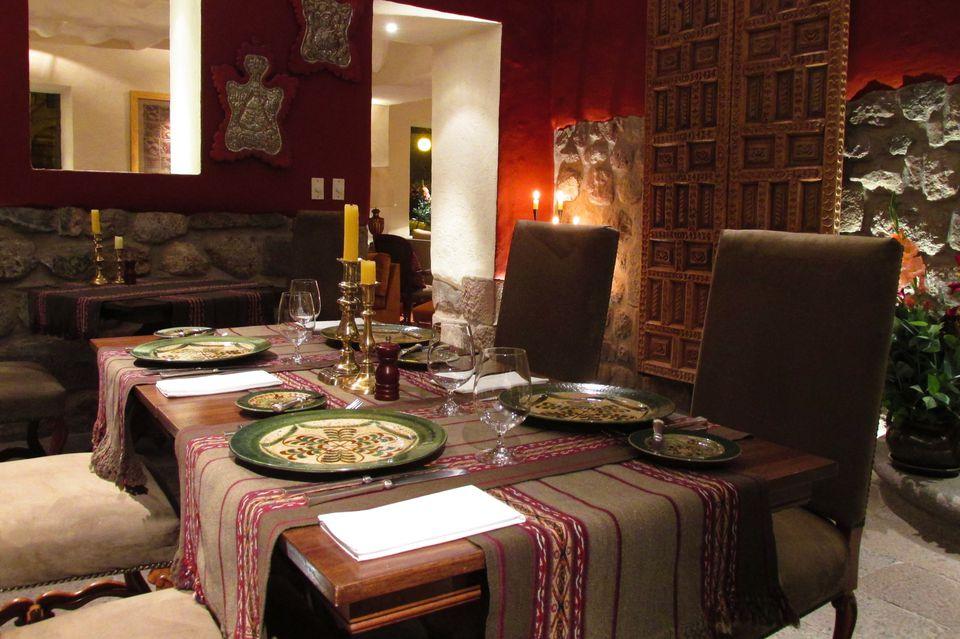 Dinner in Peru