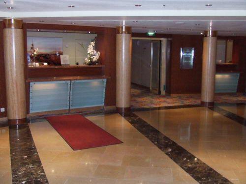 Celebrity Infinity Reception Area