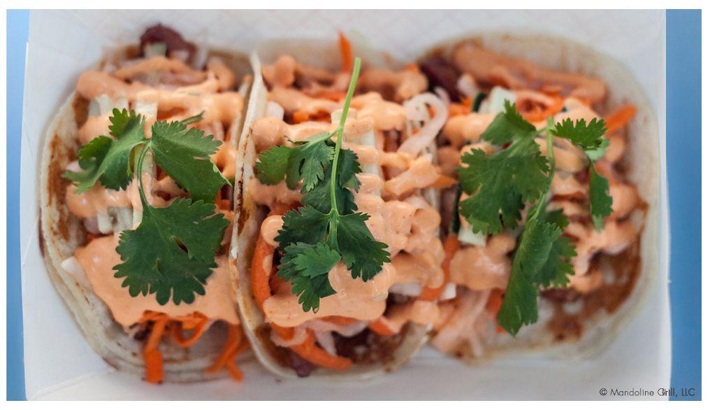 Tacos from Mandoline Grill