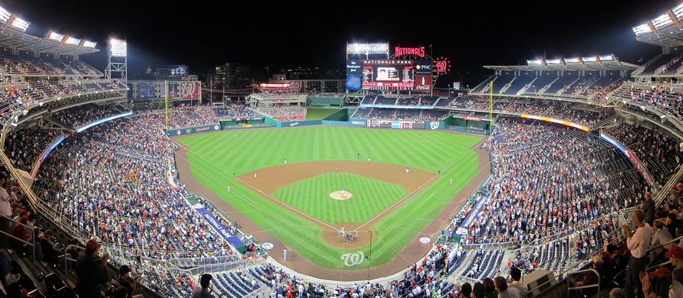 Nationals Park in Washington, DC.