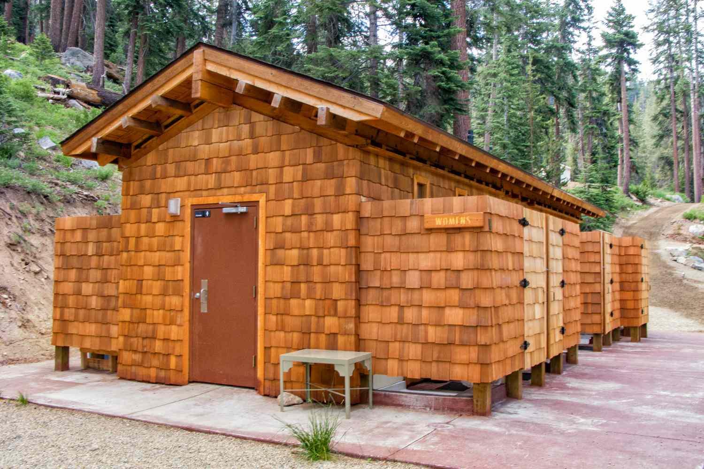 Bath House at Sequoia High Sierra Camp
