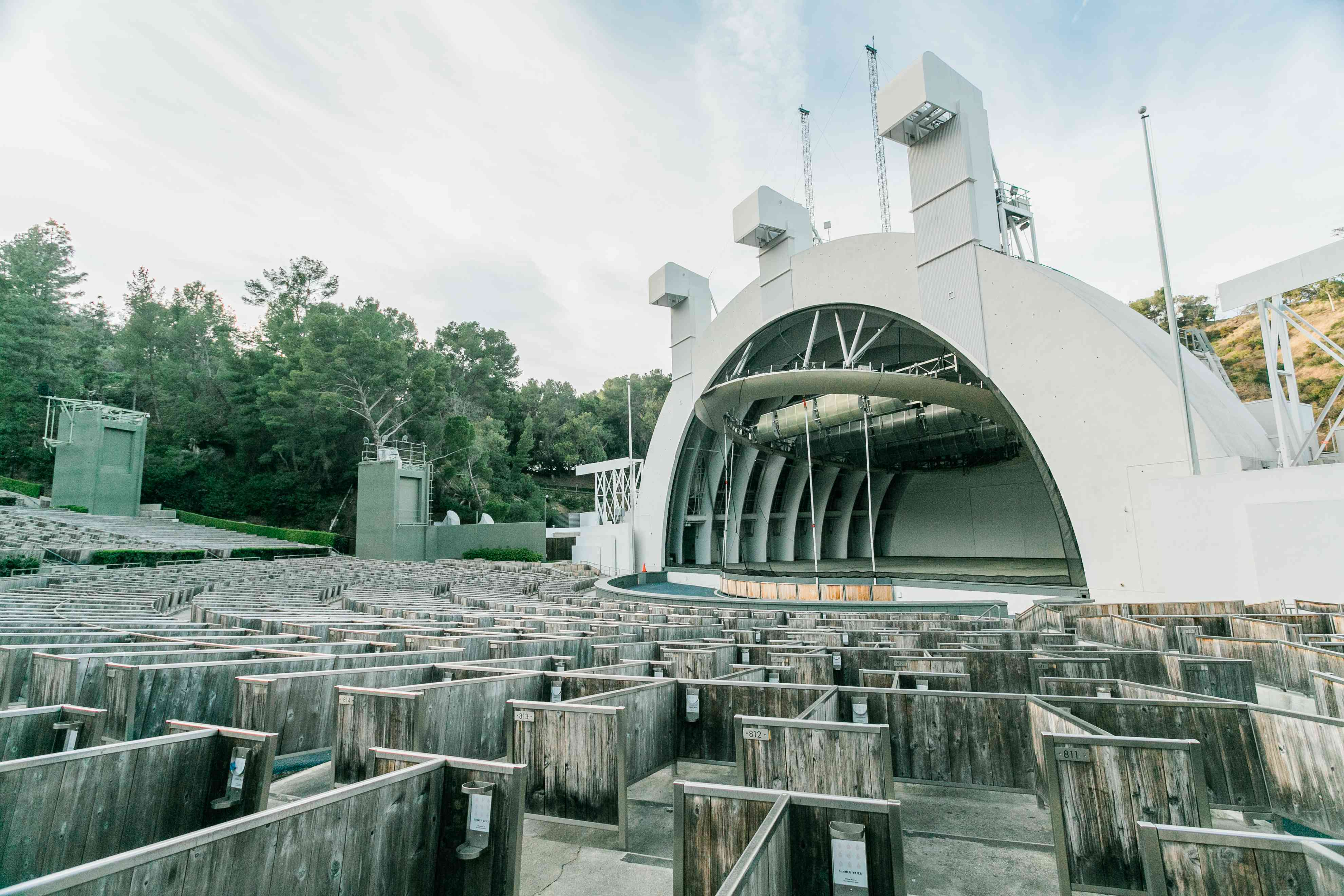 The Hollywood Bowl in LA