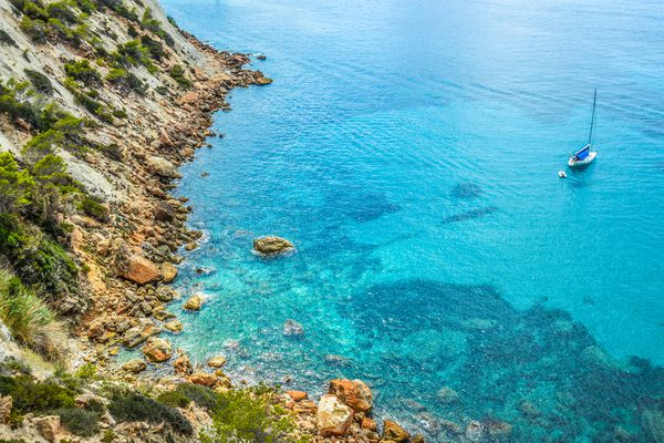 Cala de Sant Vicent in Ibiza