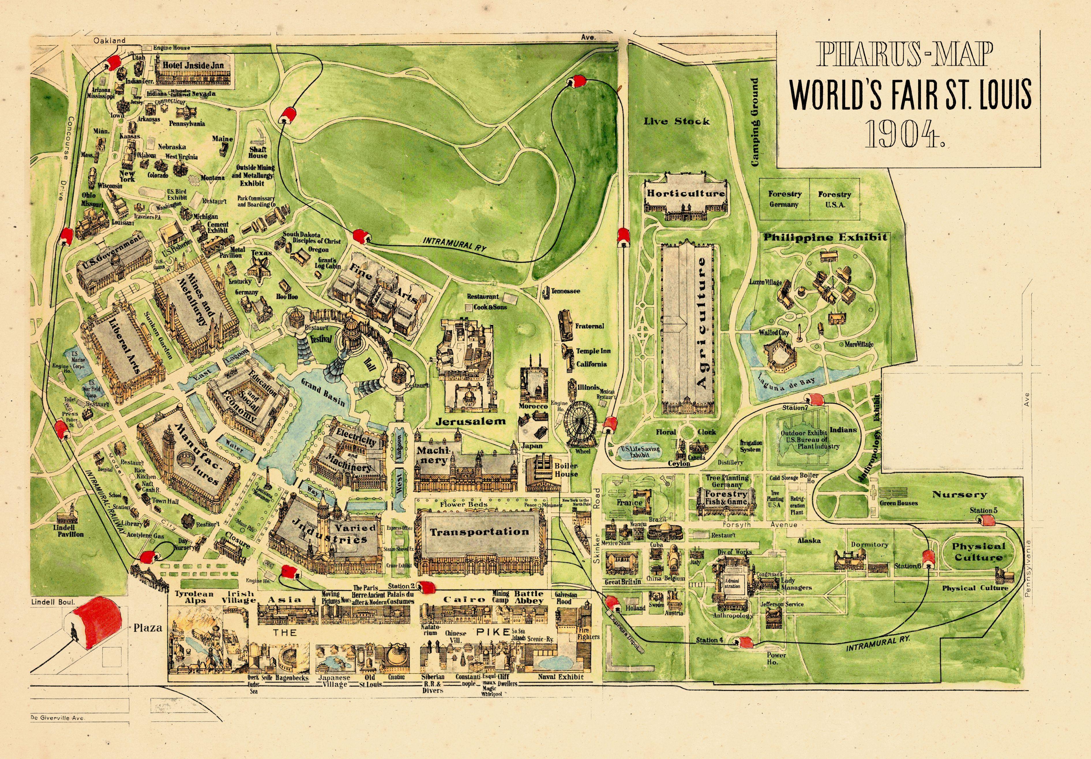 Missouri, 1904, Saint Louis World's Fair