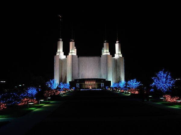 2018 Festival Of Lights Washington D C Mormon Temple