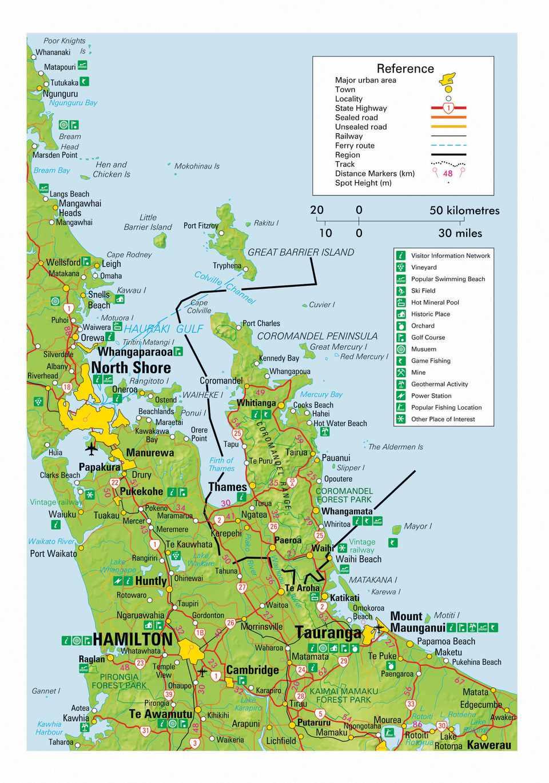 Three Days in the Coromandel Peninsula North Island