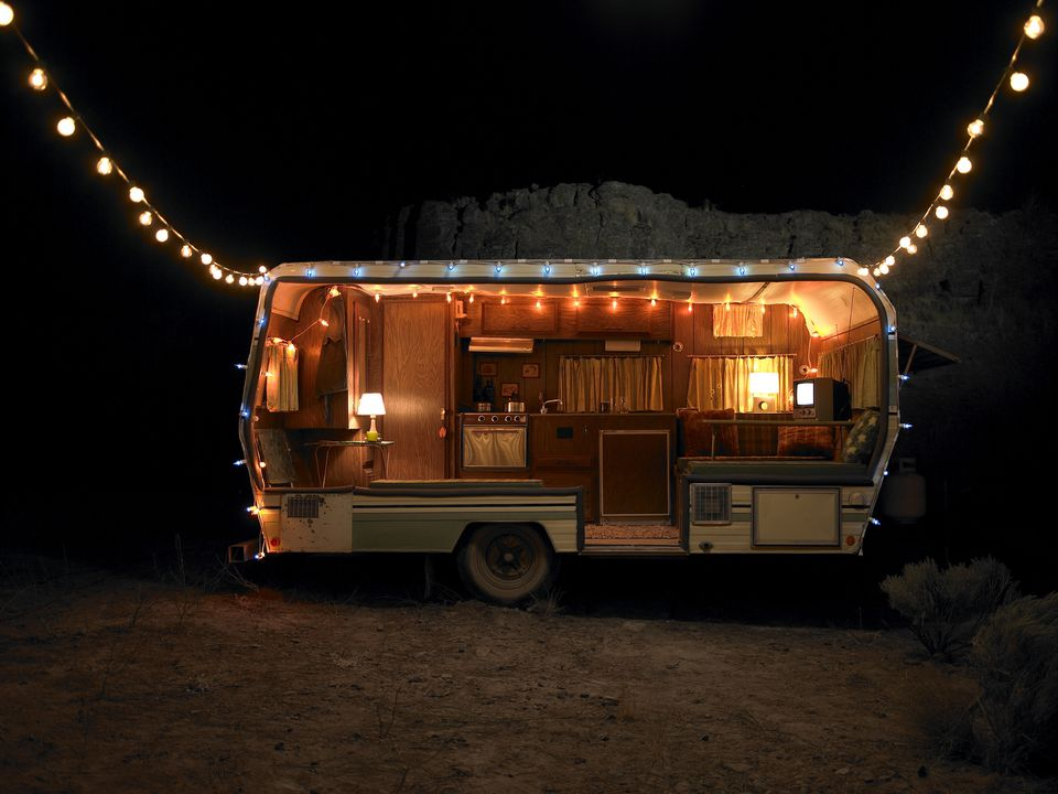 RV lighting indoors and out