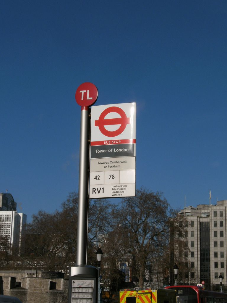 Recognizing London Bus Stops
