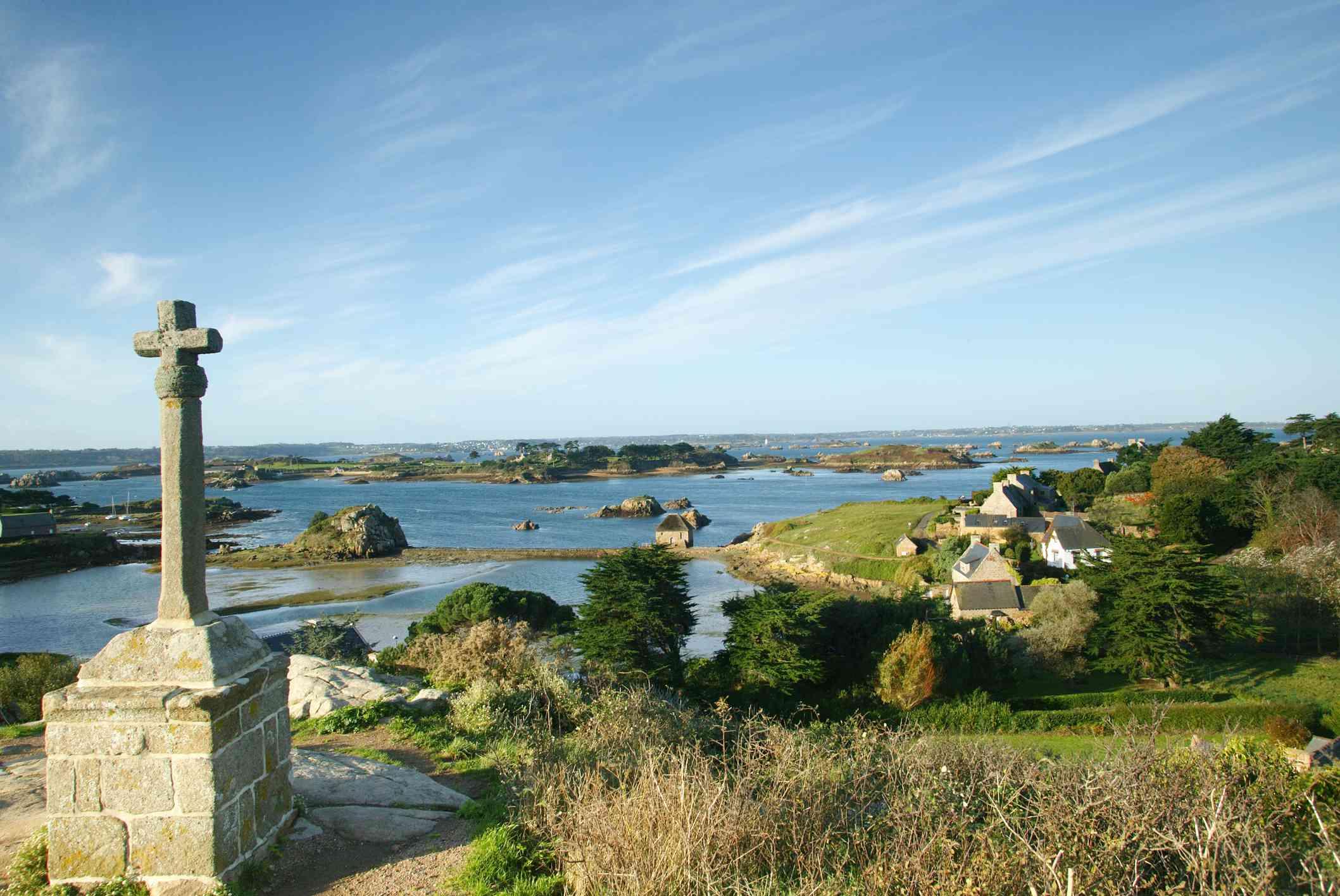 Bréhat Island, Brittany, France