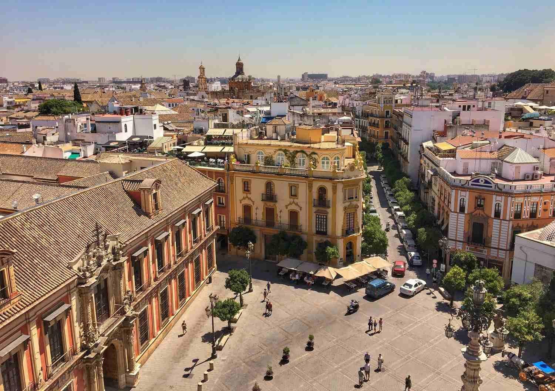 Summer in Seville, Spain