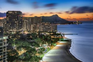 Waikiki Sunrise in Oahu