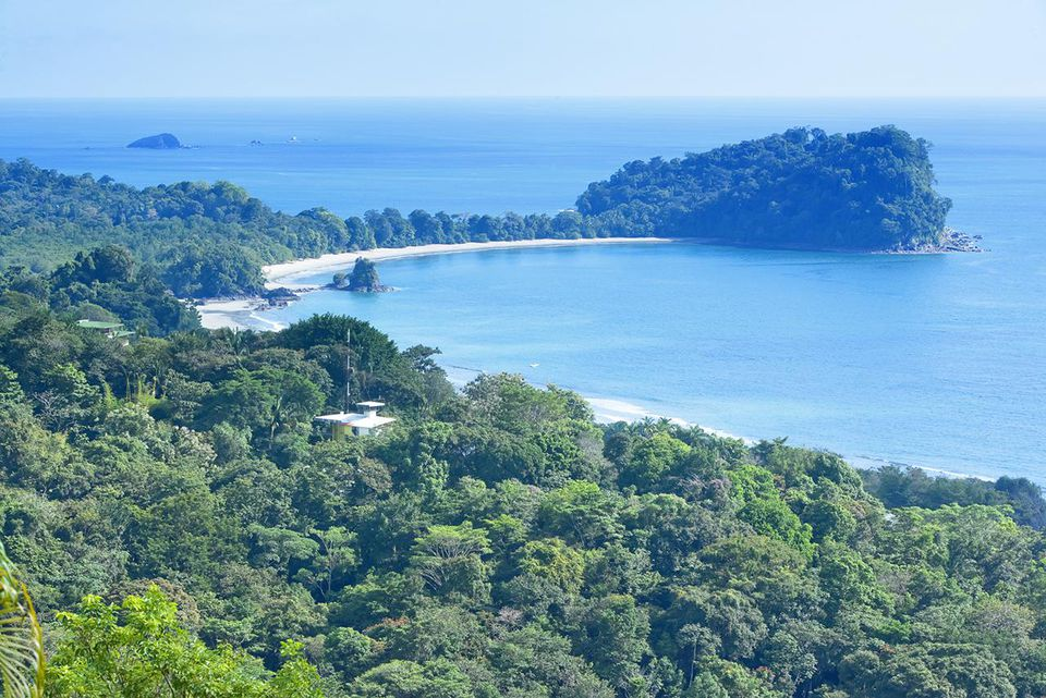 Coastline, Manuel Antonio National Park, Costa Rica, Central America