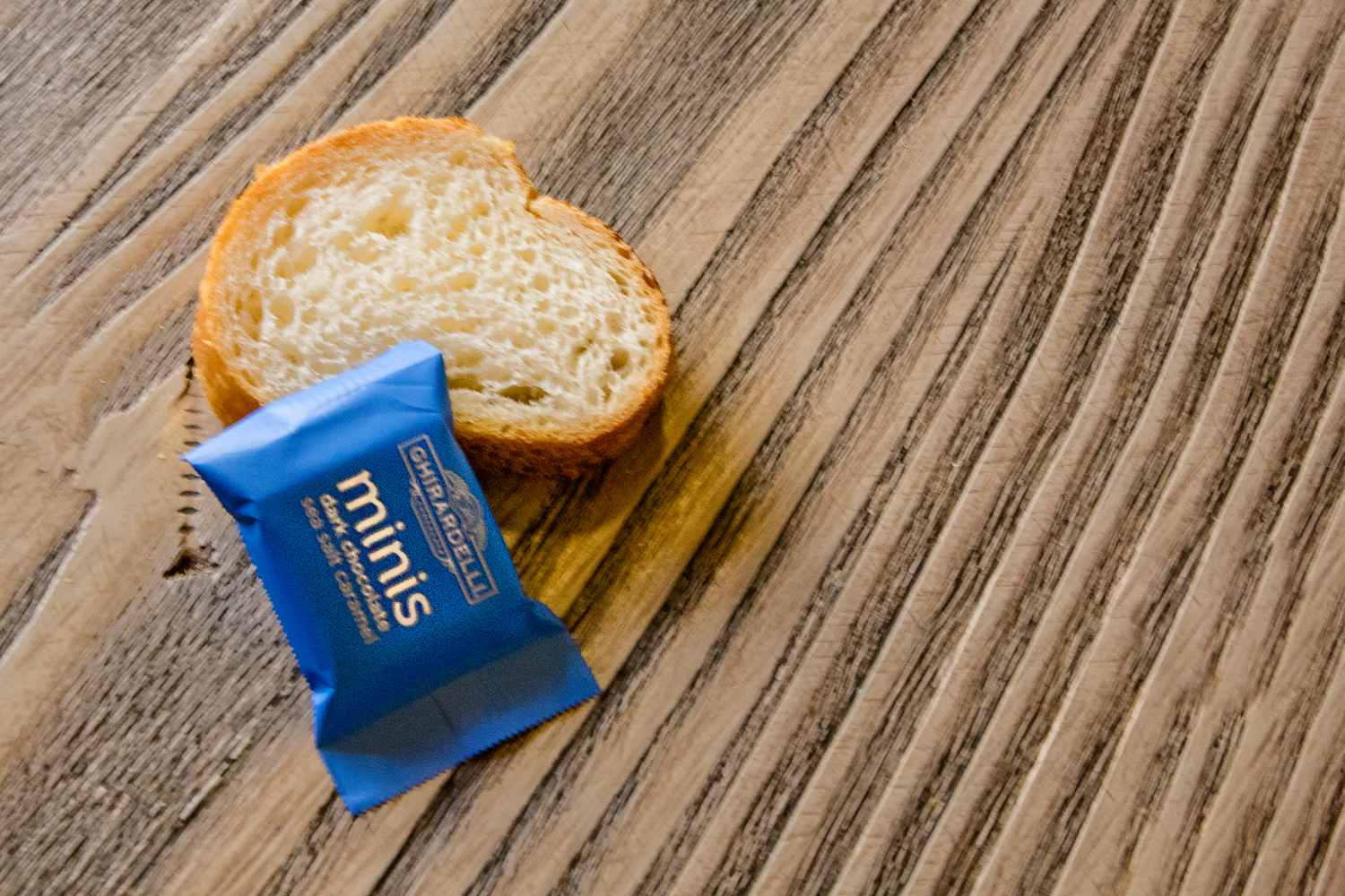 Free Samples of bread and chocolate At California Adventure