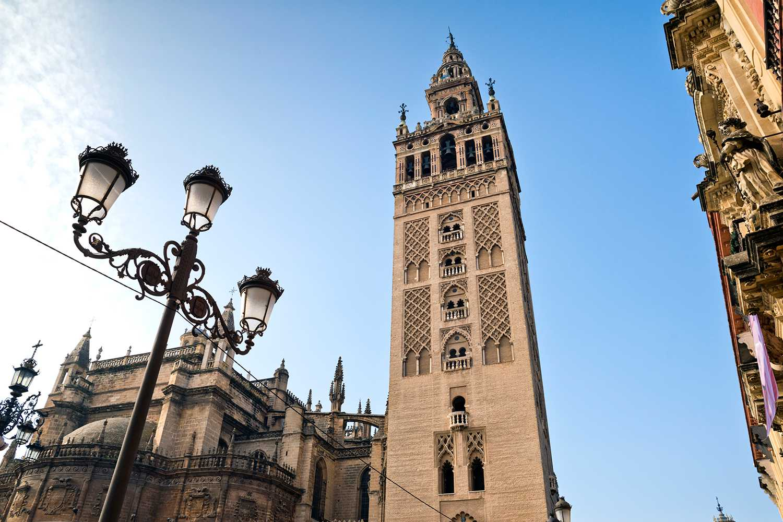The Giralda Tower, Seville Andalucia, Spain.