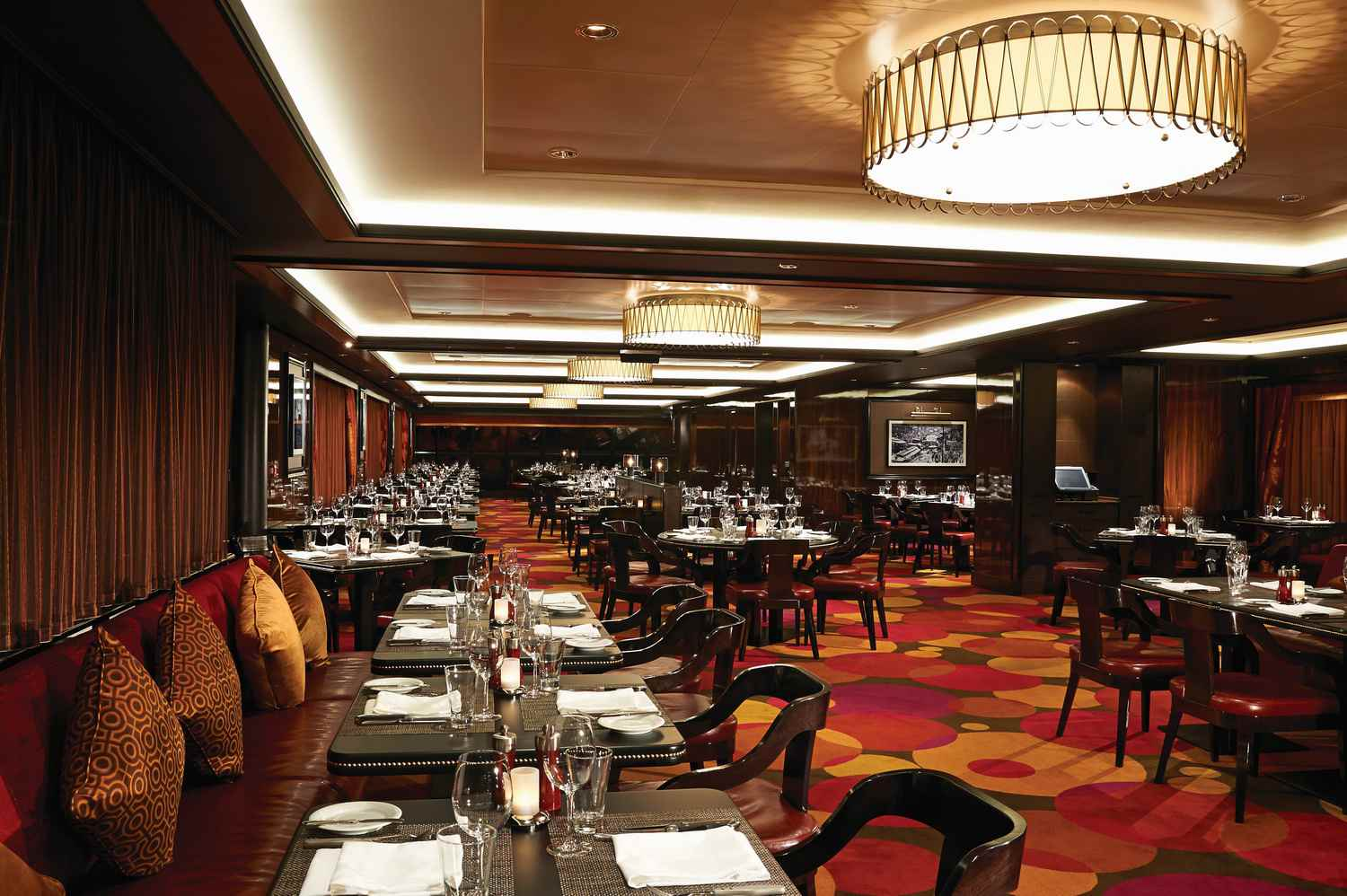 Cagney's Steakhouse on the Norwegian Getaway