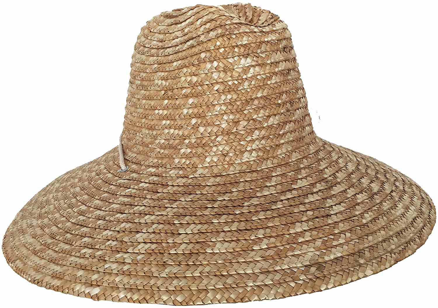 Super Wide Brim Lifeguard Hat Straw Beach Sun Summer Surf Safari Gardening  UPF b71f6efee4d