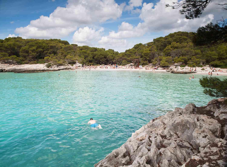 Cala Turqueta beach
