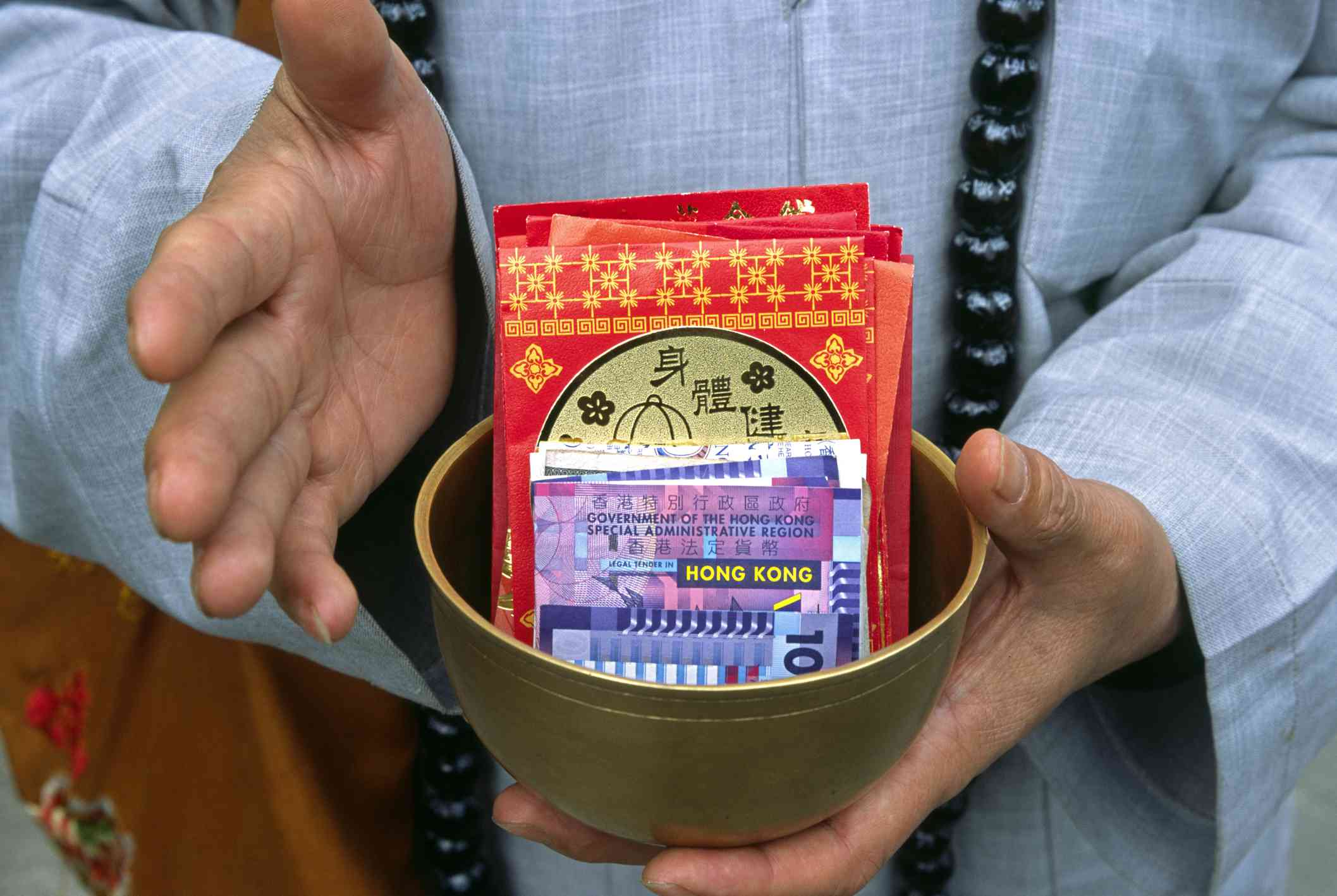 Lai see red packets