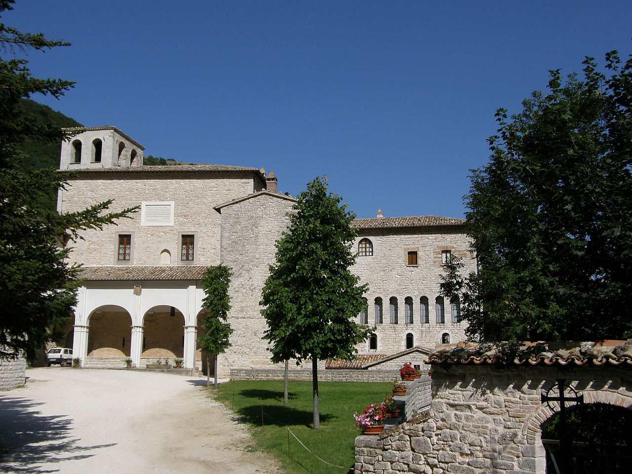 Serra Sant'Abbondio, Italy - Monastero di Fonte Avellana