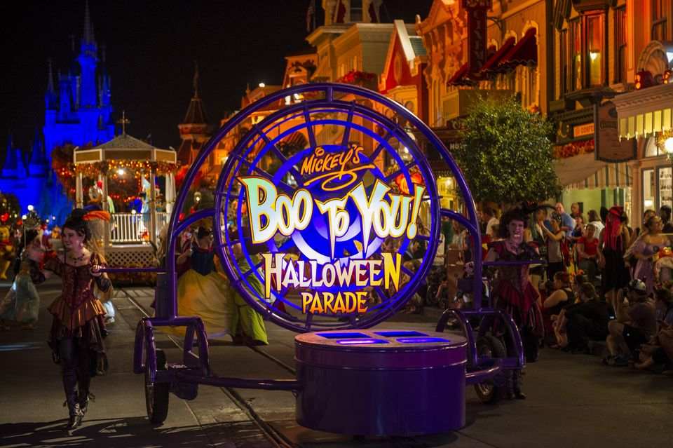 Mickey's Boo To You Halloween Parade at Magic Kingdom