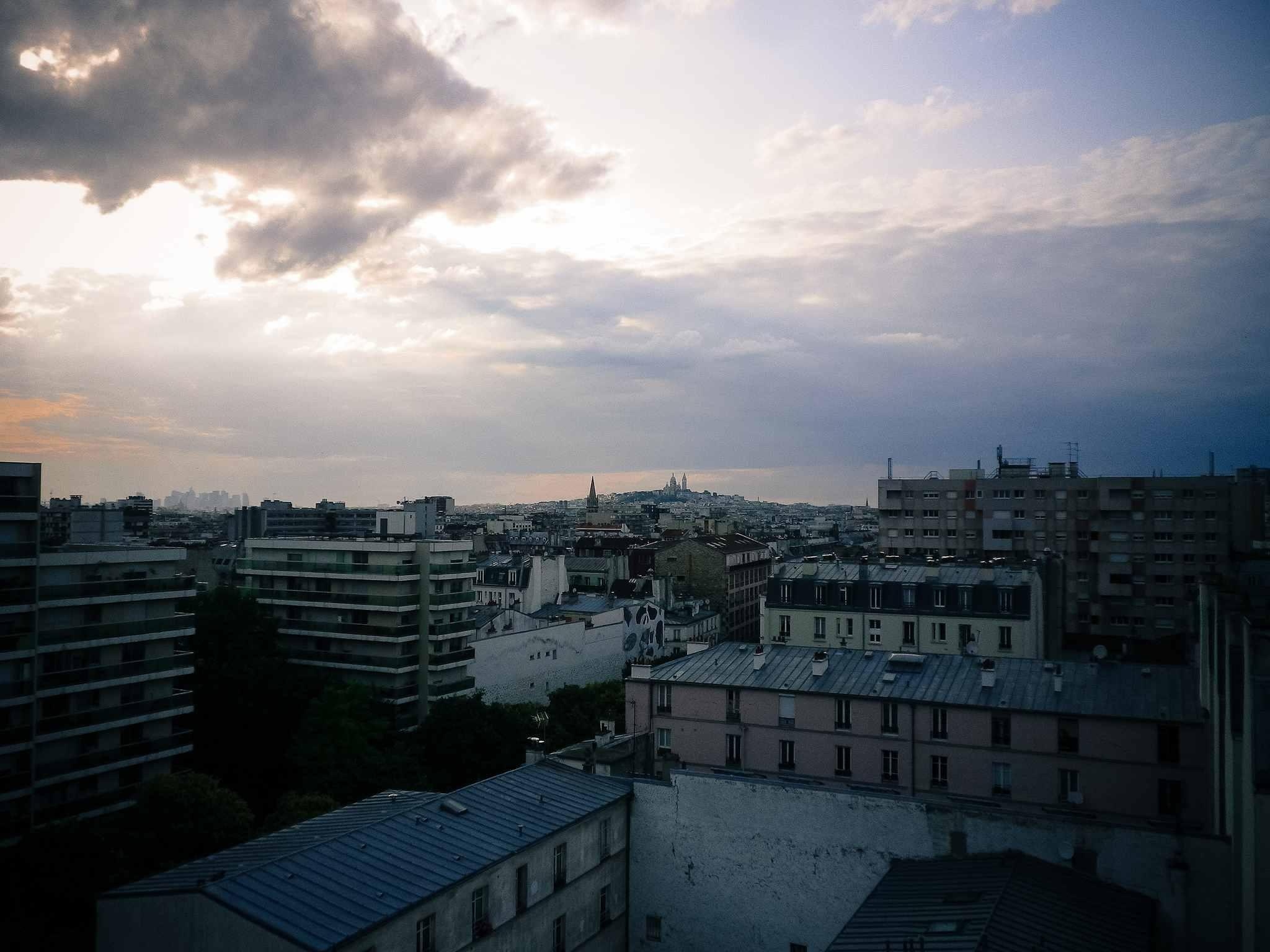 Vista desde le Perchoir, París