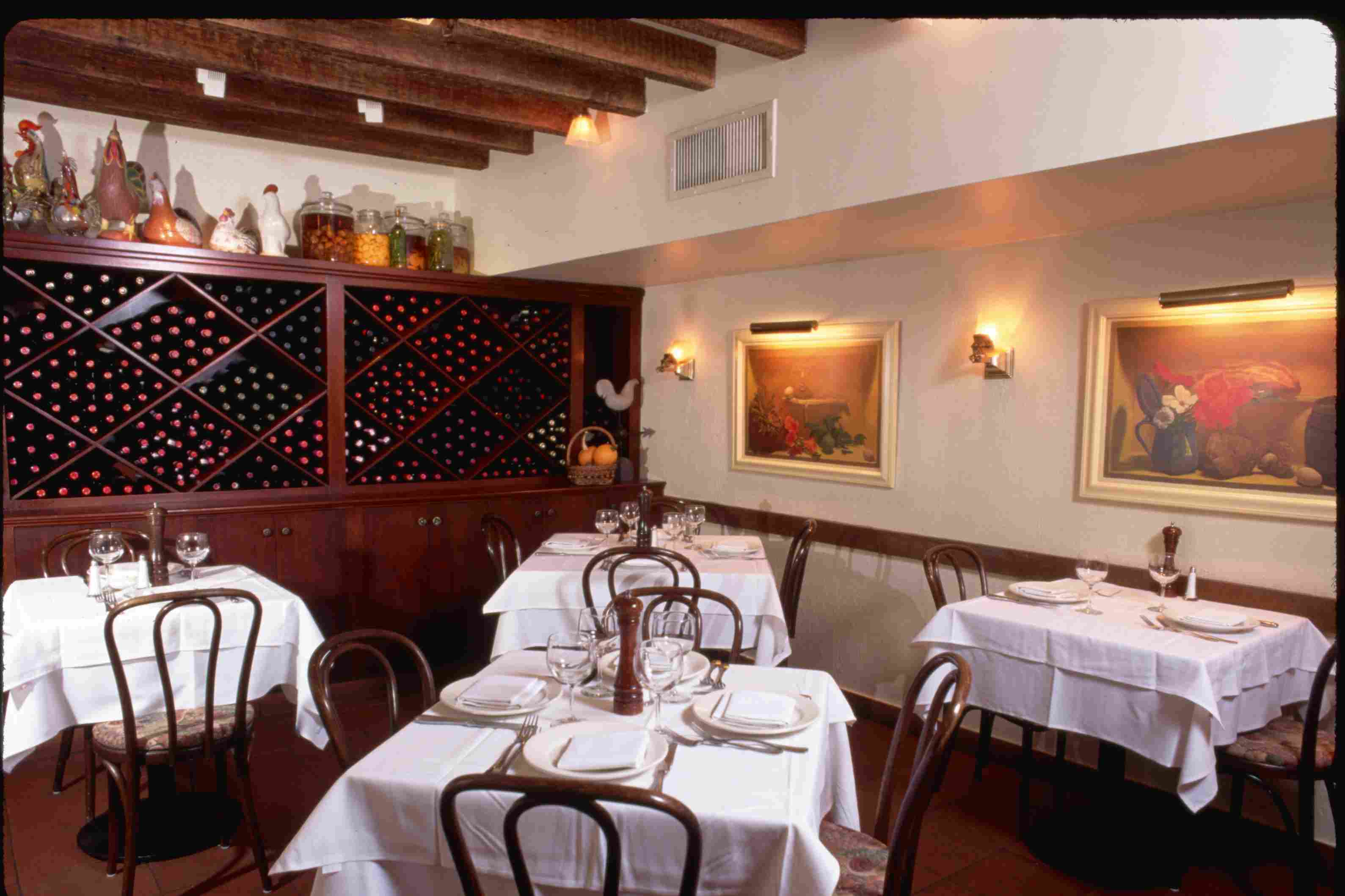 Becco Restaurant Dining Room