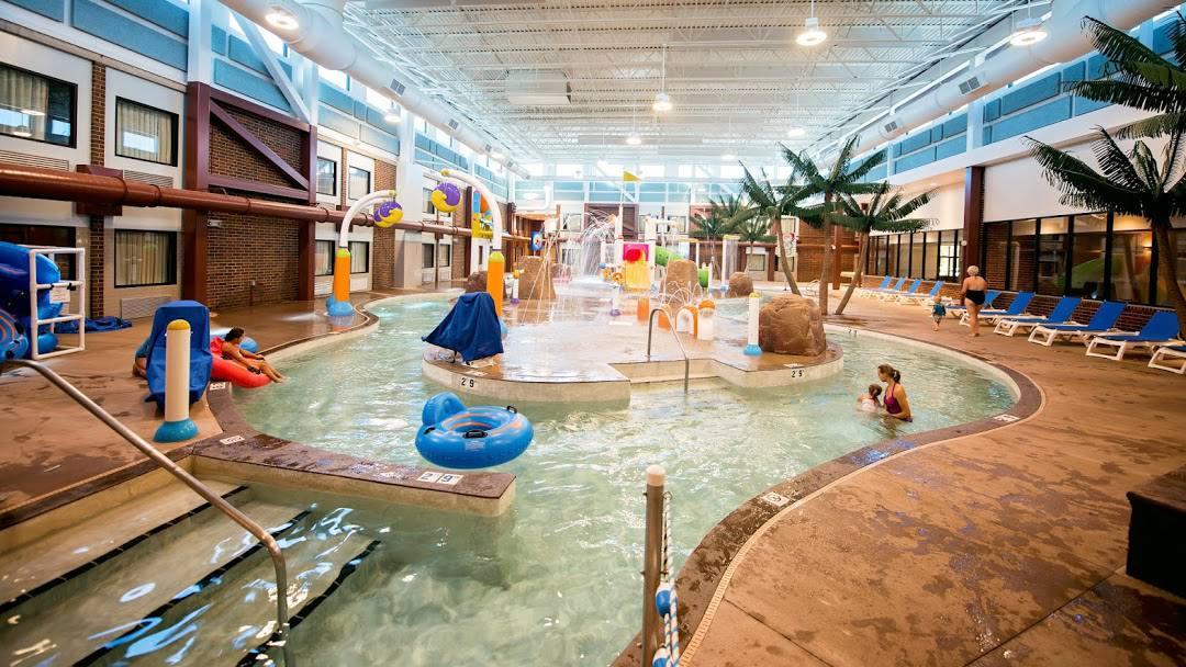 Splash Zone Waterpark in South Dakota