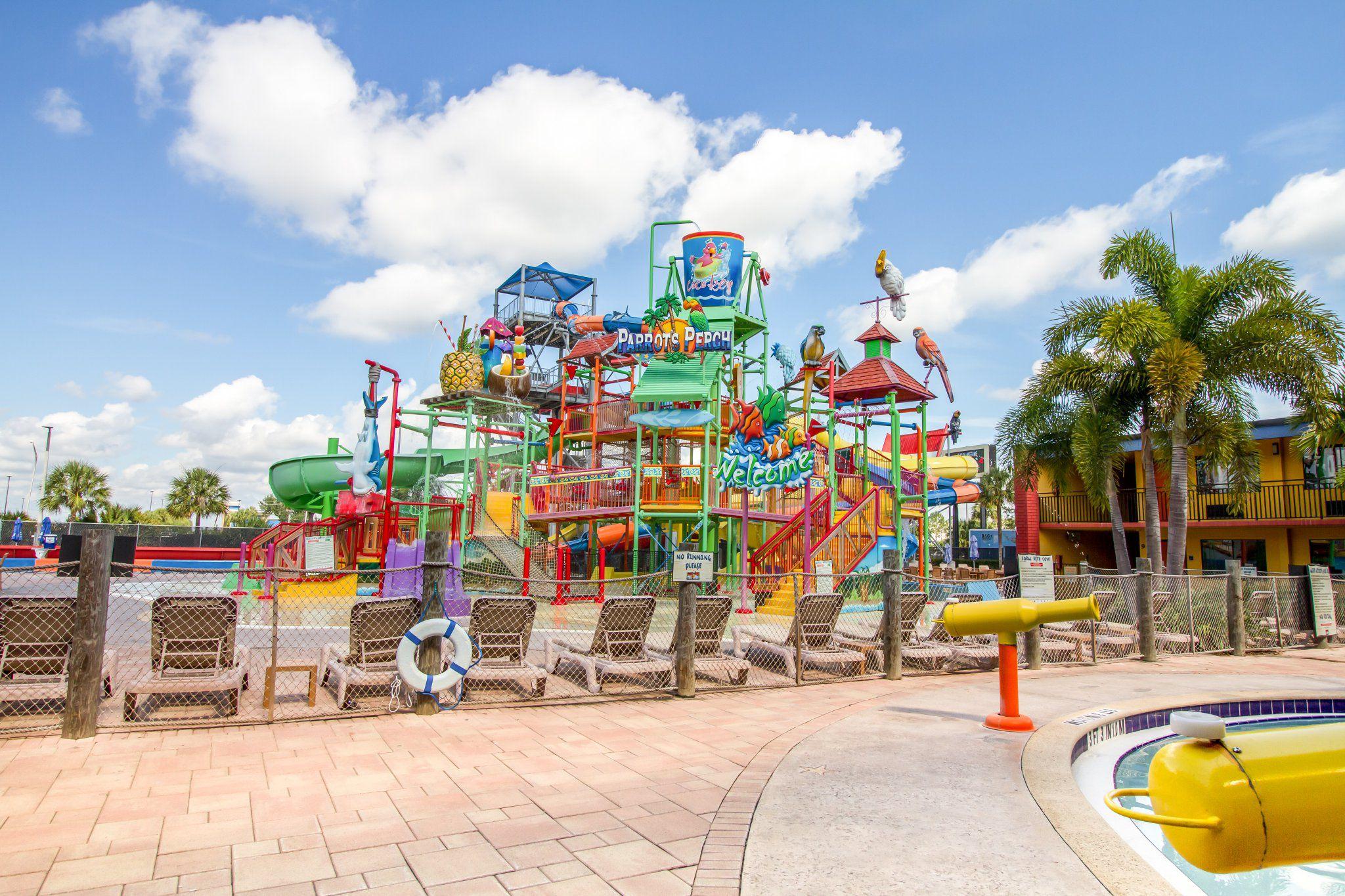 Water Park Fun at CoCo Key Resort in Orlando