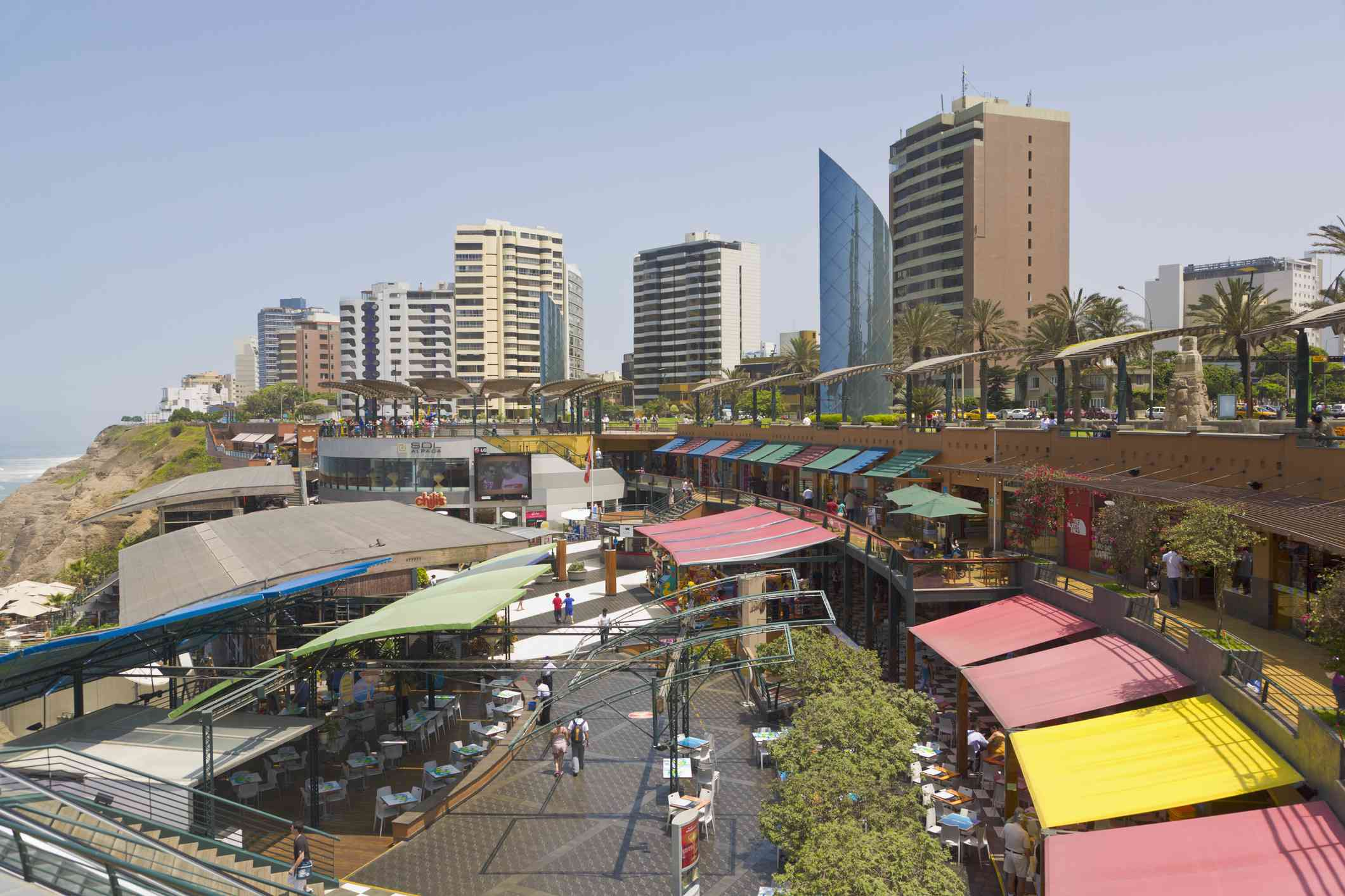 Larcomar Shopping Centre, Miraflores, Lima, Peru