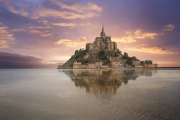 Mont St. Michel is a UNESCO World Heritage Site-- and it's not difficult to see why.