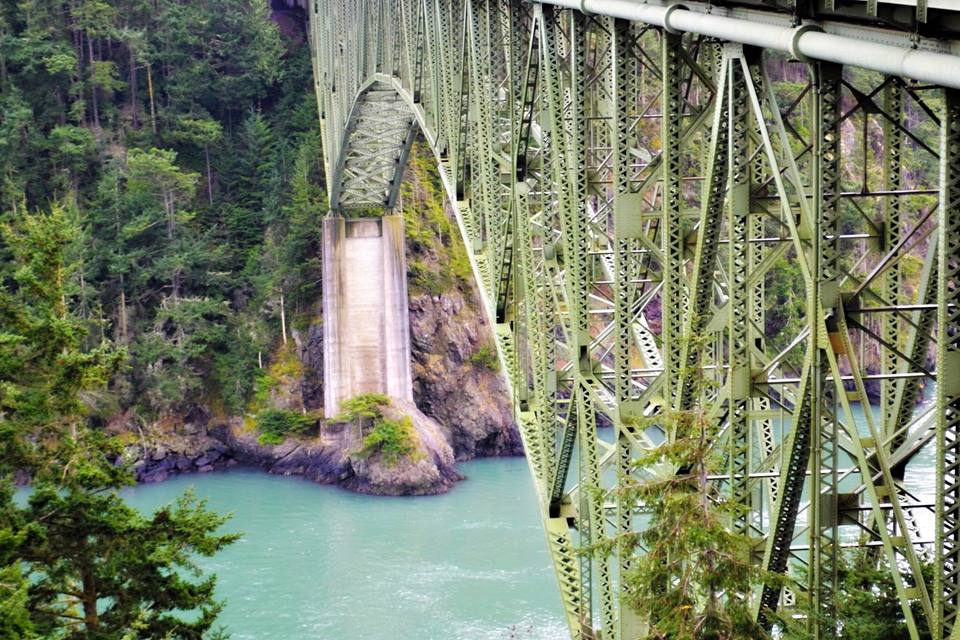 Deception Pass Bridge Kitsap Peninsula
