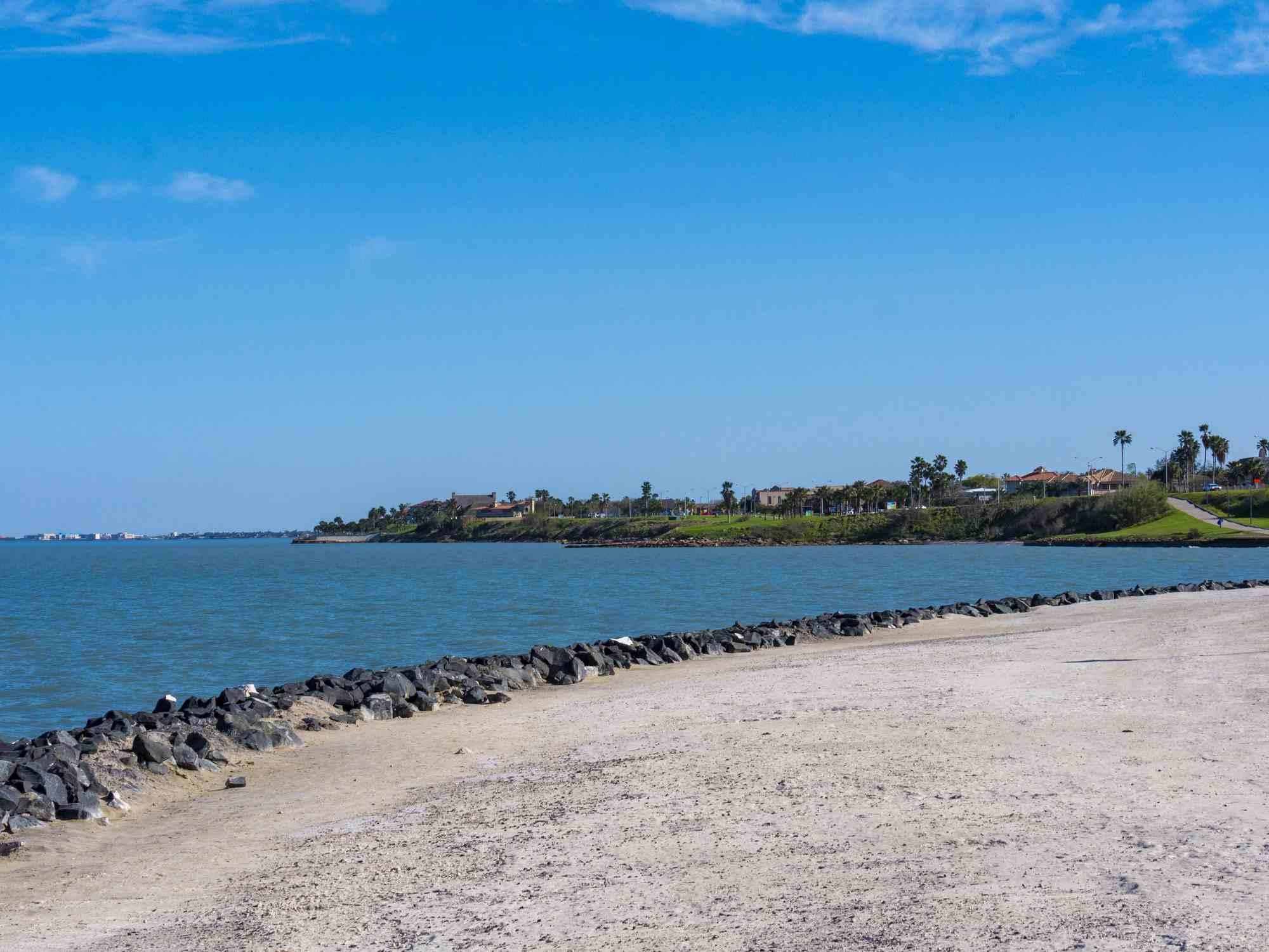 Parque escénico con vista a la Bahía de Corpus Christi