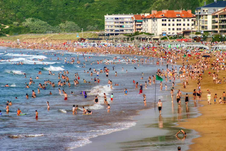 Zarautz, Basque Country, Spain