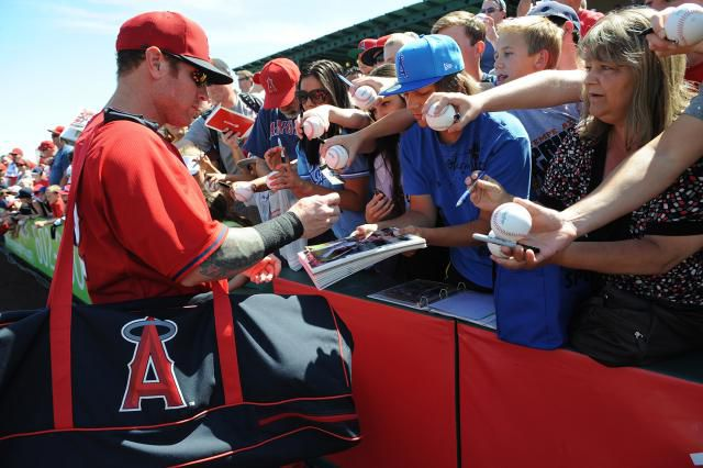 Angels at Spring Training