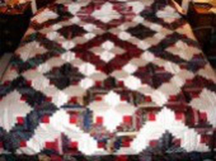 Silk Tie Quilt Ideas Using Mens Ties