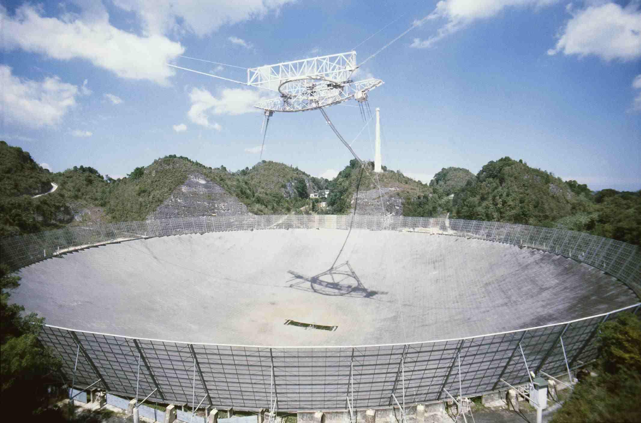 Observatorio de Arecibo en Puerto Rico
