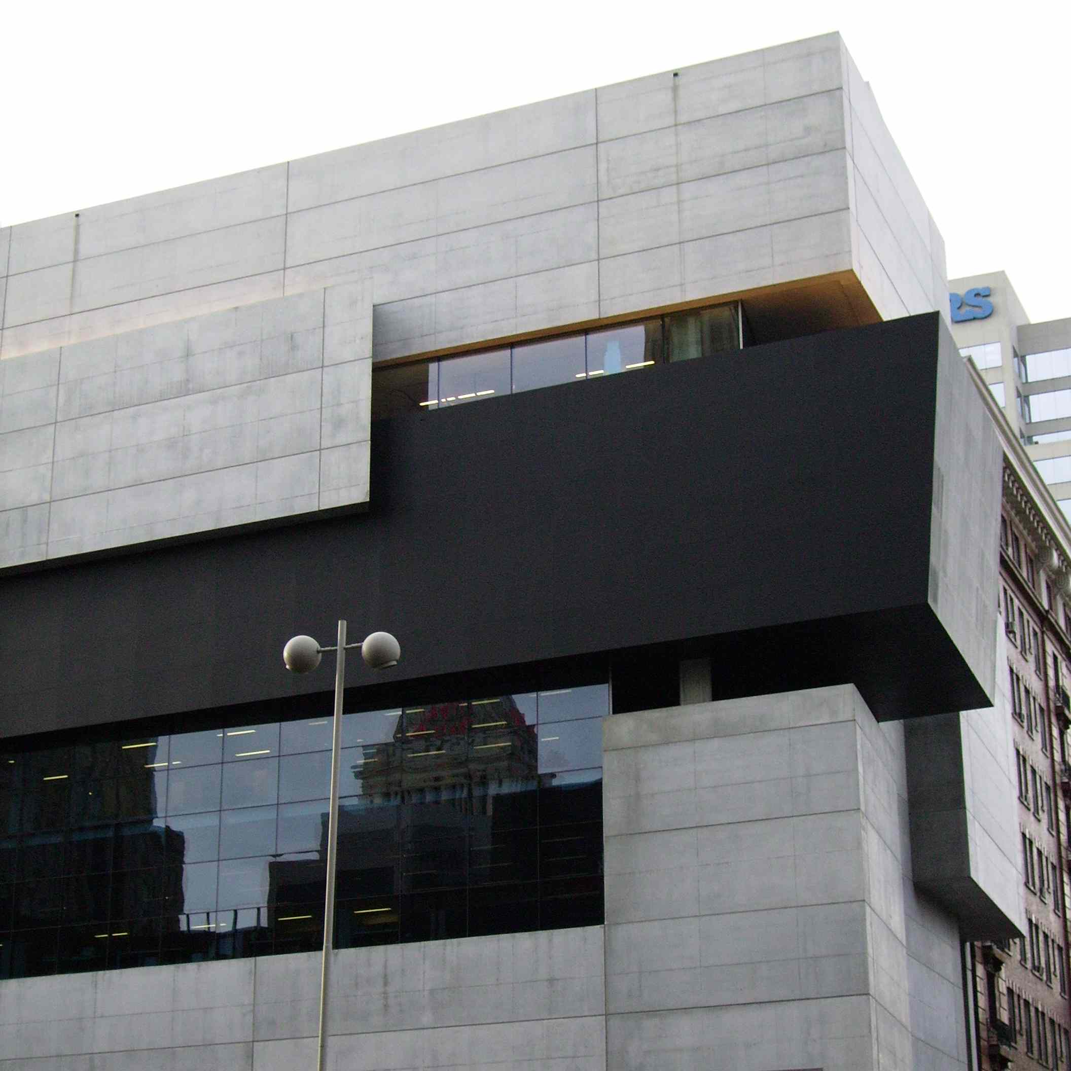 Exterior of Contemporary Art Center Cincinnatti