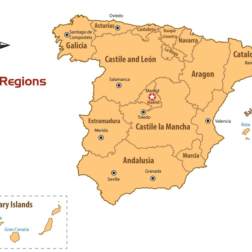 A Guide to the Regions of Spain