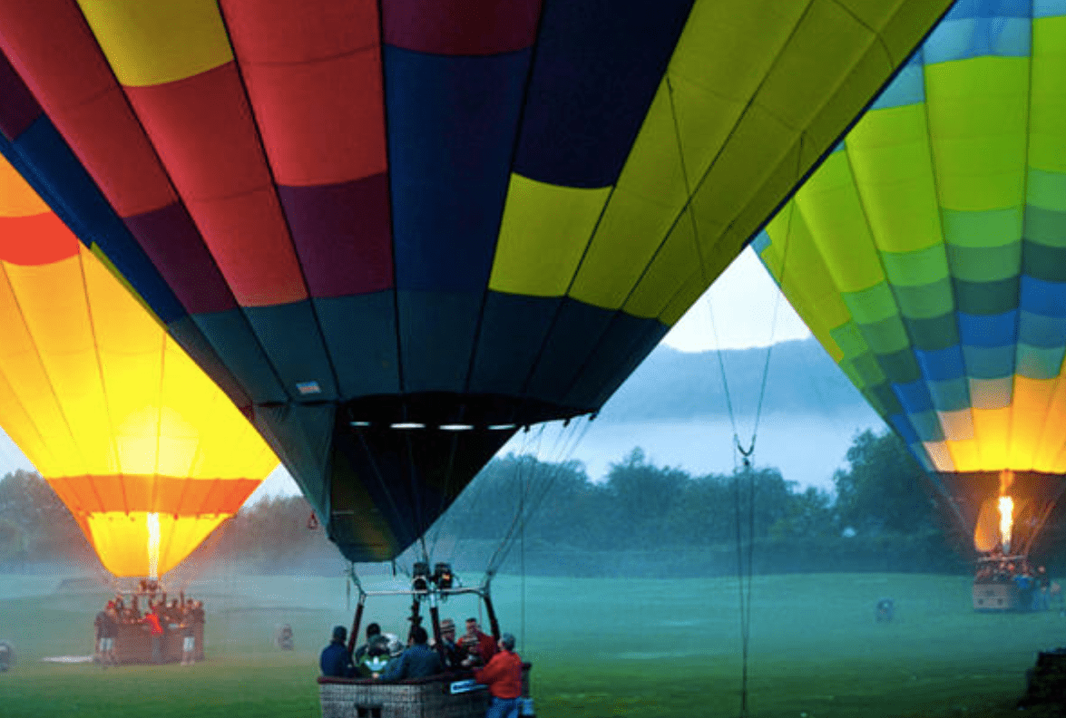 Napa Valley Hot Air Balloon Ride with Sparkling Wine Brunch